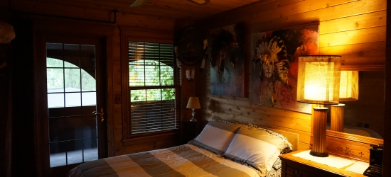 Large rustic Wisconsin cabin rentals for families with children