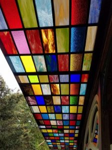 Stain Glass Awning